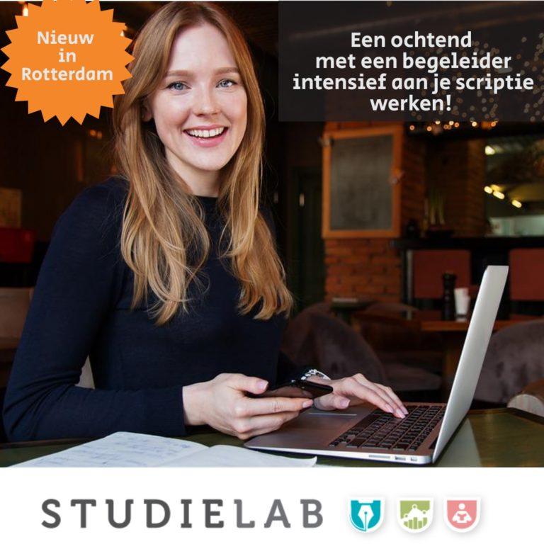 Scriptiebegeleiding in Rotterdam Actie